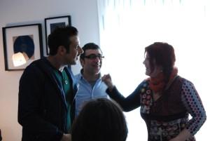 IO , Ale, e Francesco Gabbani